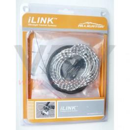 ALLIGATOR - kit transmission cable gaine derailleur MINI I LINK SILVER ARGENT