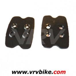 SHIMANO - contre plaque renfort support ecrou filete chaussure semelle pour vis cales pédales automatiques