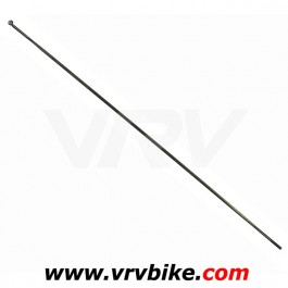 DT SWISS - rayon aerolite plat profilé double butted NOIR coudé 90° longueur 262 mm