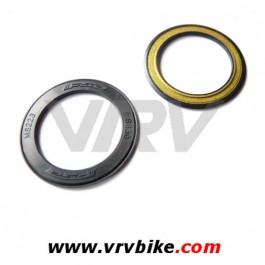 """FSA - kit 2 caches poussiere joints """"bearing covers"""" boitier pedalier BB30 NOIR MS223 o ring protection roulement"""