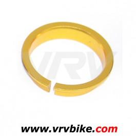 FSA - bague entretoise compression roulement 1'1/8 36° or gold doree - colerette rondelle fendue haut jeu direction serrage ring orbit z ou autre