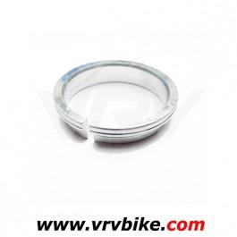 FSA - bague entretoise compression roulement 1'1/8 45° grise - colerette rondelle fendue haut jeu direction serrage ring