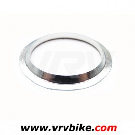 FSA - bague inferieur bas jeu direction fourche tapered roulement 36° interne 1.5 SILVER - coupelle cone rondelle embase fork crown race