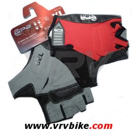 GPA - gants courts GEL confort noir / rouge S