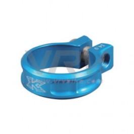 KCNC - collier de serrage tige de selle SC11 a vis 38.2 BLEU