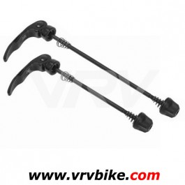 MAVIC - Paire blocages roue serrage rapide VTT NOIR (crossride crosstrail ...)