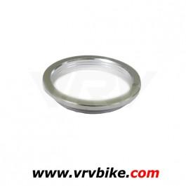 RITCHEY - bague entretoise compression roulement 1'1/8 45° pro silver - colerette rondelle fendue haut jeu direction serrage ring