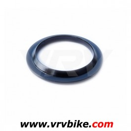 RITCHEY - bague inférieur aluminium bas jeu direction fourche roulement 45° interne 1'1/8 NOIR  - coupelle cone rondelle embase fork crown race
