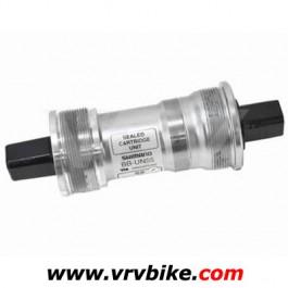 SHIMANO - boitier de pedalier axe carré BB-UN55 largeur 68 mm - axe 122.5 mm
