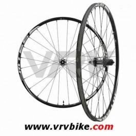 SHIMANO - Paire de roues VTT WH-MT66 SLX 9 mm centerlock tubeless noir