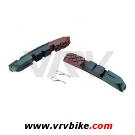 xxx paire de patins frein vtt v brake recharge cartouche tri zone 955vcr. Black Bedroom Furniture Sets. Home Design Ideas