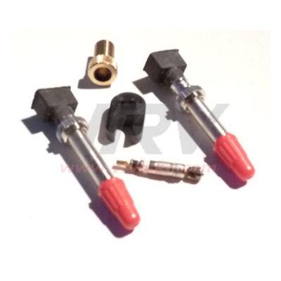 no flats valves tubeless presta 2 x embout et valve. Black Bedroom Furniture Sets. Home Design Ideas