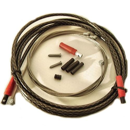 jagwire xtx kit freinage cable gaine carbone freins. Black Bedroom Furniture Sets. Home Design Ideas
