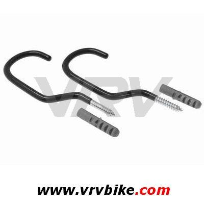 Xxx 2 crochets suspension roue velo a visser chevilles - Crochet pour suspendre velo ...