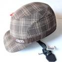 "ABUS - casque velo urbain ACS Metronaut ""casquette textile"" taille unique 53 - 59 cm"