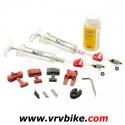 AVID - SRAM - kit purge frein hydraulique juicy code elixir PRO + huile + raccords 00.5315.025.010