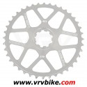 BLACKSPIRE - couronne plateau transformation cassette VTT Recognition shimano 40 Dents silver