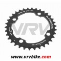 BLACKSPIRE - plateau VTT SUPER PRO NOIR 4 trous 104 - 32 Dents