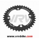 BLACKSPIRE - plateau VTT SUPER PRO NOIR 4 trous 104 - 36 Dents