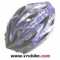 XXX casque velo enfant ou adulte 17 aérations bleu foncé taille 50-56 cm
