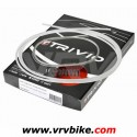 ELVEDES - TRIVIO - Kit cables / gaines complet av+ar derailleur BLANC