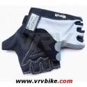 GPA - gants courts Lycra Antiglisse noir / gris L