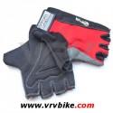 GPA - gants courts Lycra Antiglisse noir / rouge L