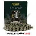 KMC - chaine 10 vitesses X10-93 SILVER