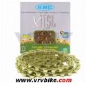 KMC - chaine 11 vitesses X11-SL super light double X Ti-N GOLD