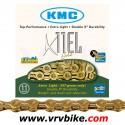 KMC - chaine 11 vitesses X11-EL Extra Light double X GOLD