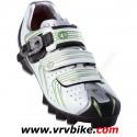 PEARL IZUMI - chaussures VTT MTB ELITE II BLANC silver taille 44