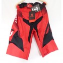SCOTT - short DH Racing IS red rouge noir freeride descente taille L