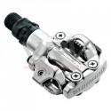 SHIMANO - pédales automatiques VTT SPD-M 520 grises
