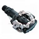 SHIMANO - pédales automatiques VTT SPD-M 520 noires