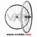 SHIMANO - Paire de roues VTT WH-MT66 SLX 9 mm centerlock tubeless noir 2013