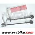 SHIMANO - blocage roue serrage rapide quick release aluminium route silver avant ET / OU arriere