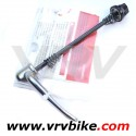 SHIMANO - blocage roue serrage rapide quick release vintage silver AVANT (route ou vtt)