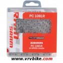 SRAM - chaine 10 vitesses vtt route PC1091 R ajourée + PL (en boite)
