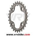 SRAM TRUVATIV - plateau XX aluminium gris 4 trous 80 - 28