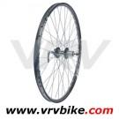 REMERX - JOYTECH - roue ARRIERE  26' VTT jante rocky double paroi disque 6 trous noir 9 135 mm QR