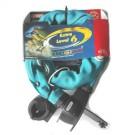 ABUS - cadenas catena 680 75 cm chaine acier + clé bleu aqua (art n° 48571)