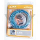 """ALLIGATOR - kit freinage cable gaine frein I LINK type """"nokon"""" BLEU"""