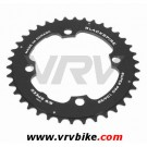 BLACKSPIRE - plateau VTT SUPER PRO NOIR 4 trous 104 - 38 Dents