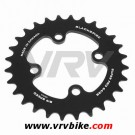 BLACKSPIRE - plateau VTT SUPER PRO NOIR 4 trous 64 - 28 Dents