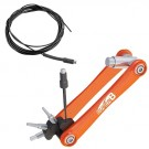 SUPER B TOOL - outil pro internal routing tool TB-IR10 pour placer cable durite gaine passage interne cadre aimant