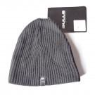 BULLS - bonnet laine classique noir logo discret