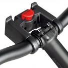 KLICKfix - système de fixation accroche rapide panier sac porte carte ... pour cintre 22-26 mm