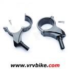 XXX - Tasseaux v brake sur fixation amovible pour fourche rigide carbone VTT (2 pieces)