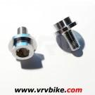 DIVERS - vis boulon serrage manivelle pedalier pour axe carré (2 vis)