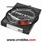 ELVEDES - TRIVIO - Kit cables / gaines complet av+ar derailleur NOIR